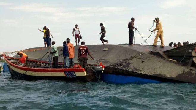 Tanzani  Dhjetra të vdekur pas fundosjes së tragetit